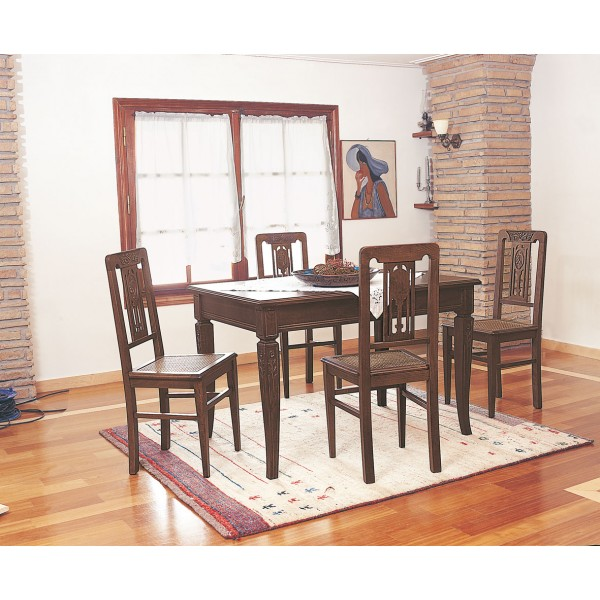 Τραπέζι Αθηναϊκό Σταθερό ή Ανοιγόμενο & Καρέκλα Αθηναϊκή Νο.2