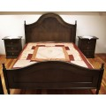 Κρεβάτι Διπλό Ερμιόνη & Κομοδίνα