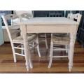 Λευκό τραπέζι κουζίνας