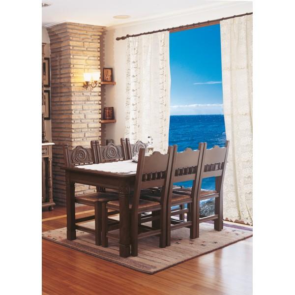 Τραπέζι Μαργαρίτα και καρέκλα Κυπαρίσσι